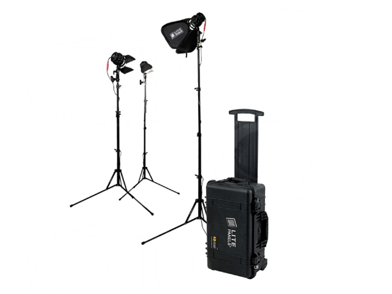 Litepanels Belysningskit Sola ENG Flight kit