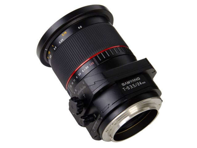 Samyang T-S 24mm f/3,5 ED AS UMC till Sony A