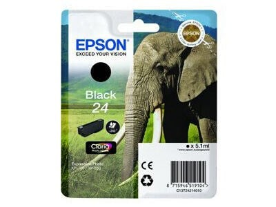 Epson Bläckpatron 24 Claria Photo HD svart 5,1 ml T2421