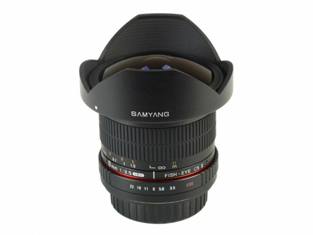 Samyang 8mm f/3,5 Asph IF MC Fisheye CSII DH till Nikon