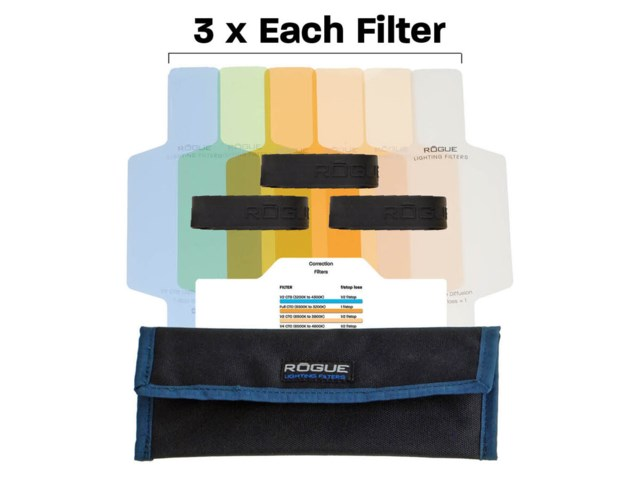 Rogue Flash color correction filter kit