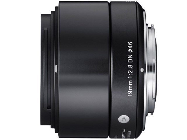 Sigma 19mm f/2,8 DN Art svart