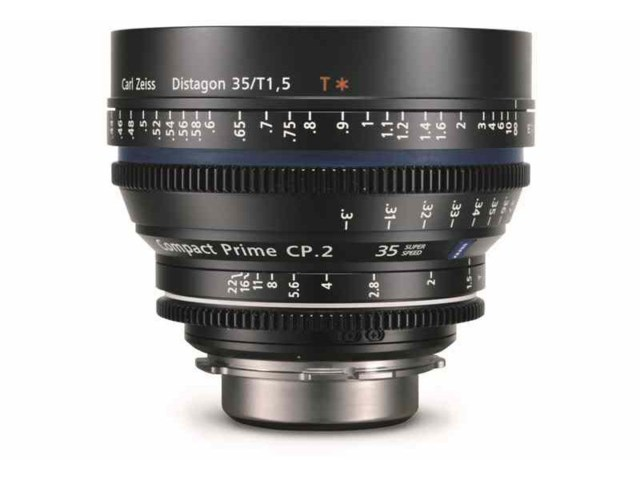 Zeiss Compact Prime CP.2 35mm T1.5 Super Speed Micro