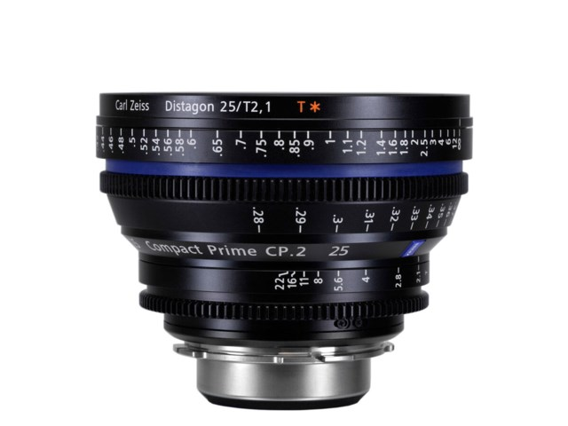 Zeiss Compact Prime CP.2 25mm T2.1 PL-mount