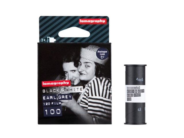 Lomography Svarvit film Earl Grey 100 120-film 3-pack