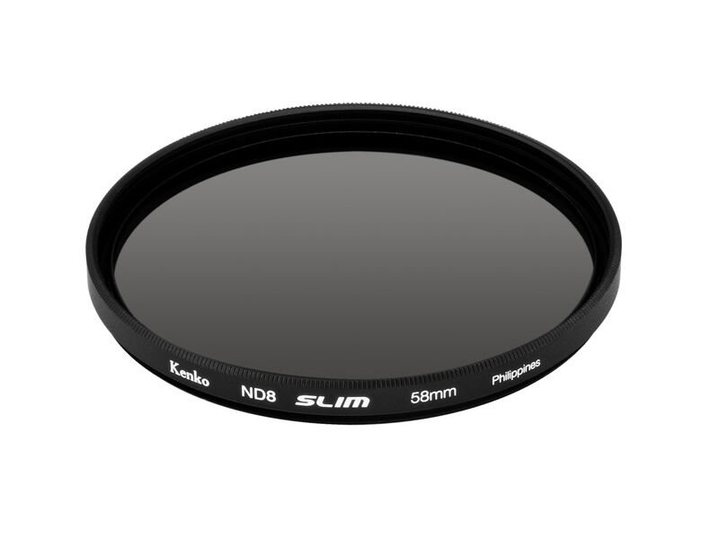 Kenko ND-filter ND8 slim 58mm