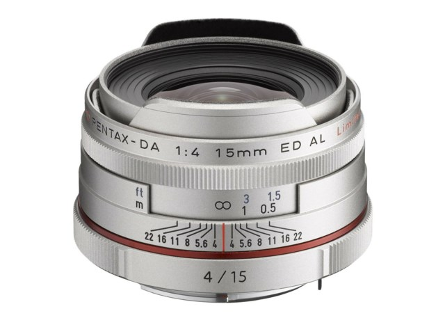 Pentax HD DA 15mm f/4 ED AL Limited silver