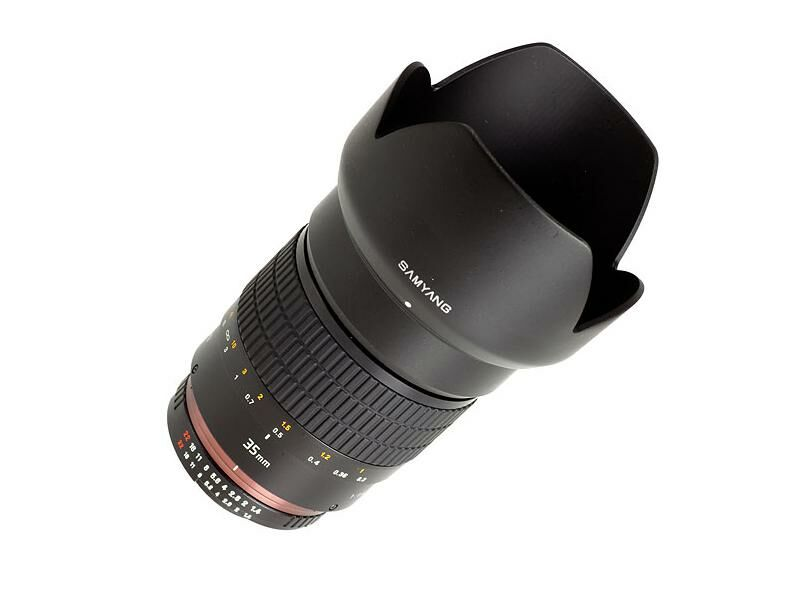 Samyang 35mm f/1,4 AS UMC till Sony E