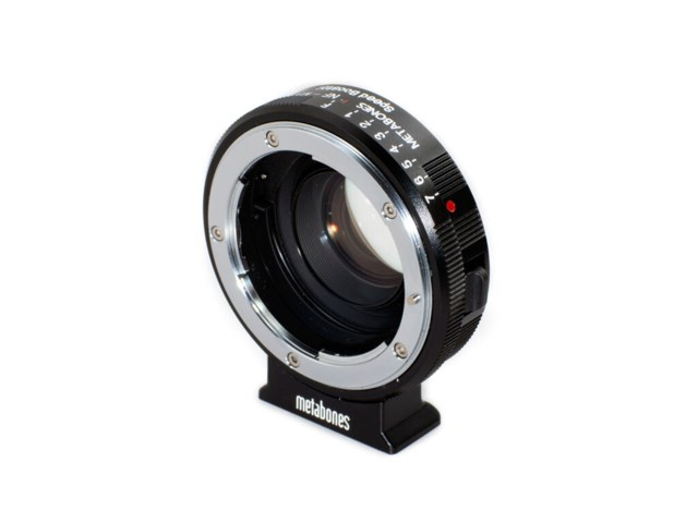 Metabones Nikon G till BMPCC Speed Booster 0,58x
