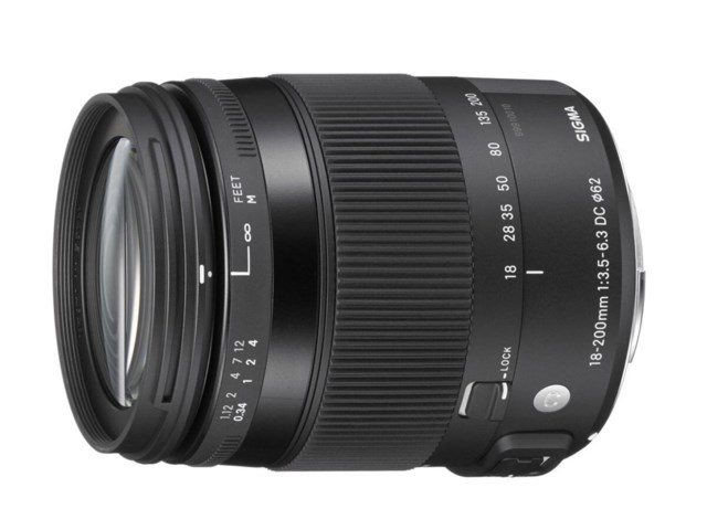 Sigma 18-200mm f/3,5-6,3 DC Macro HSM Contemporary