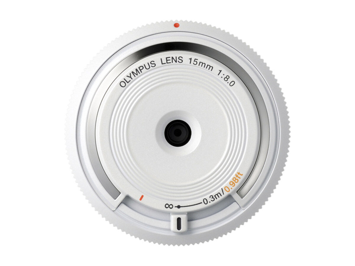 Olympus 9mm f/8,0 body cap lens vit