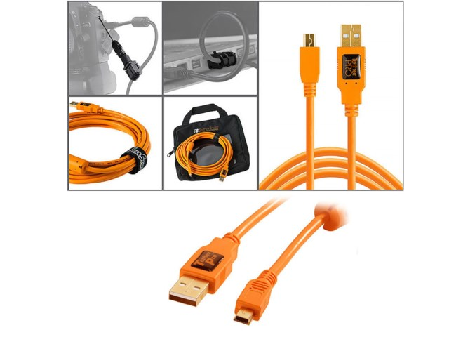 Tether Tools Starter Tethering kit med USB 2.0 mini-B 5pin