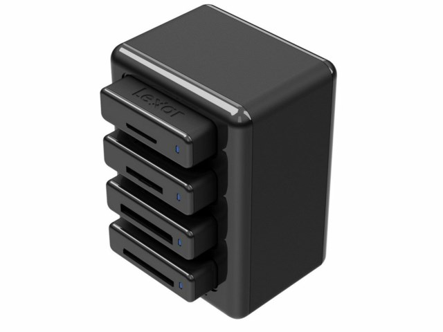 Lexar Professional Workflow Hub HR1 USB 3.0 för PC