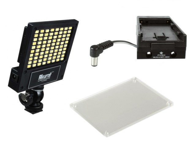 Akurat Kameralampa LED LL2120hp3 kit för Canon LP-E6