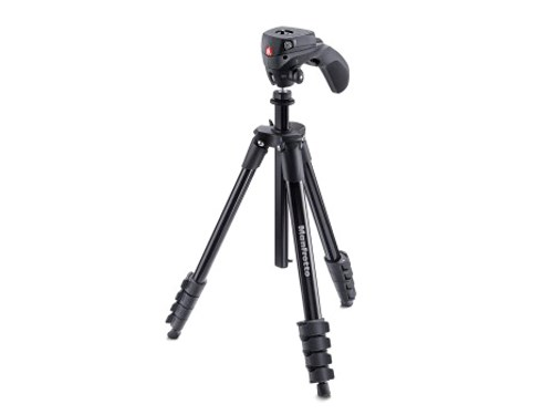 Manfrotto Stativkit Compact Action Svart