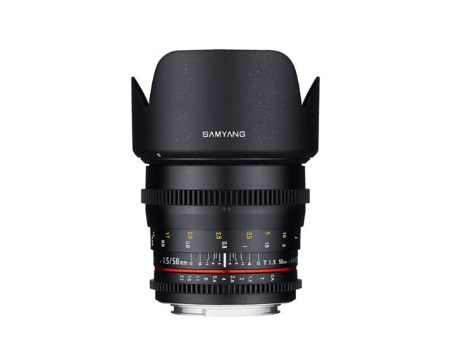 Samyang 50mm T1.5 AS UMC VDSLR Cine till Sony E