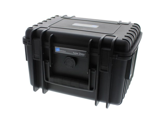 B&W Outdoor Cases Type 2000 BLK (Divider System)