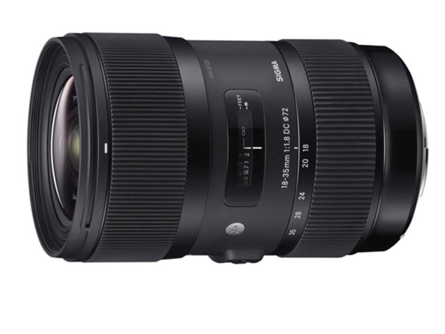 Sigma 18-35mm f/1,8 DC HSM Art till Sony A