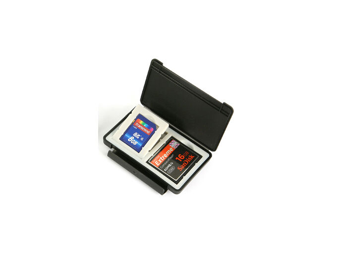 Matin Ultra-slim card safe svart