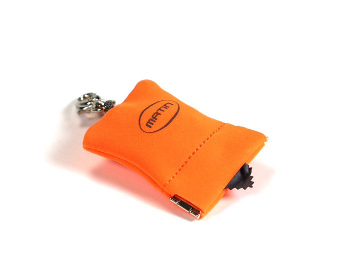 Matin Micro Pocket Cleaner orange