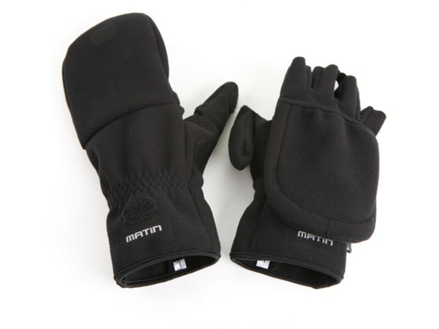 Matin Multi Shooting Glove L svart
