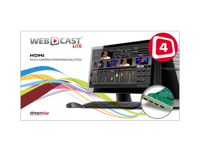 Streamstar Webcast Lite 4 HDMI
