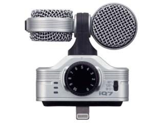Zoom Stereomikrofon iQ7 för iPhone / iPad