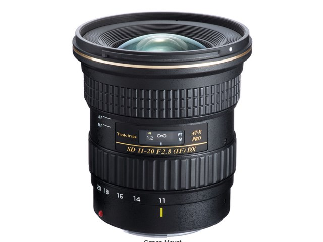 Tokina AT-X 11-20mm f/2,8 PRO DX till Canon