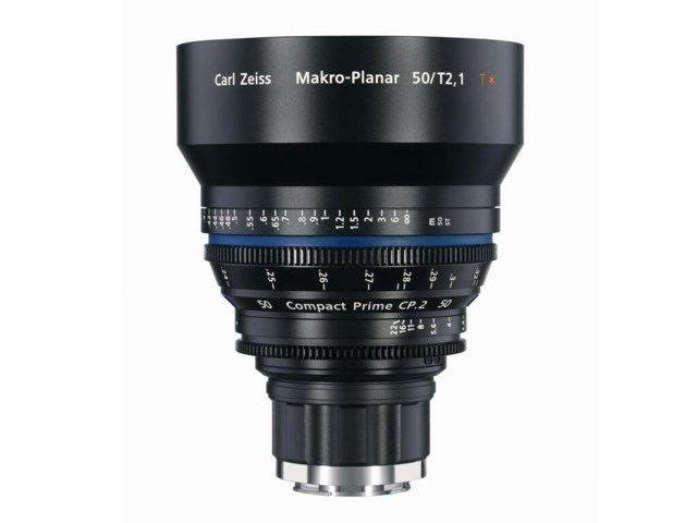 Zeiss Compact Prime CP.2 50mm T2.1 Macro PL-mount