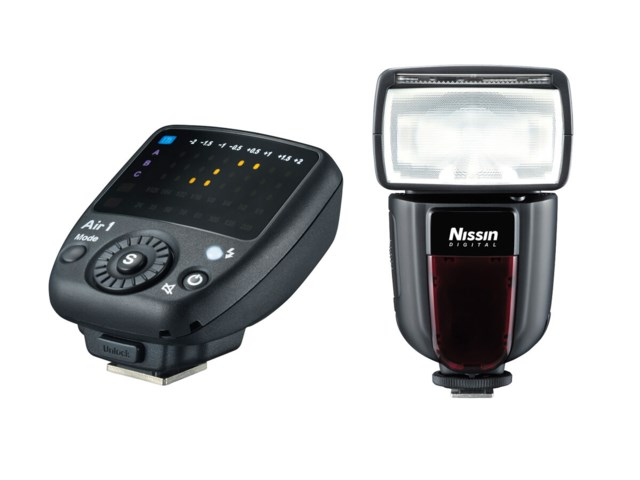 Nissin Blixt Di700A + Commander Air 1 till Canon