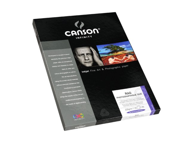 Canson Rag Photographique Duo 220gr 25blad