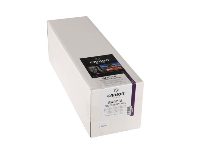 "Canson Baryta Photographique Rulle 17"" x 15,2m 310gr"