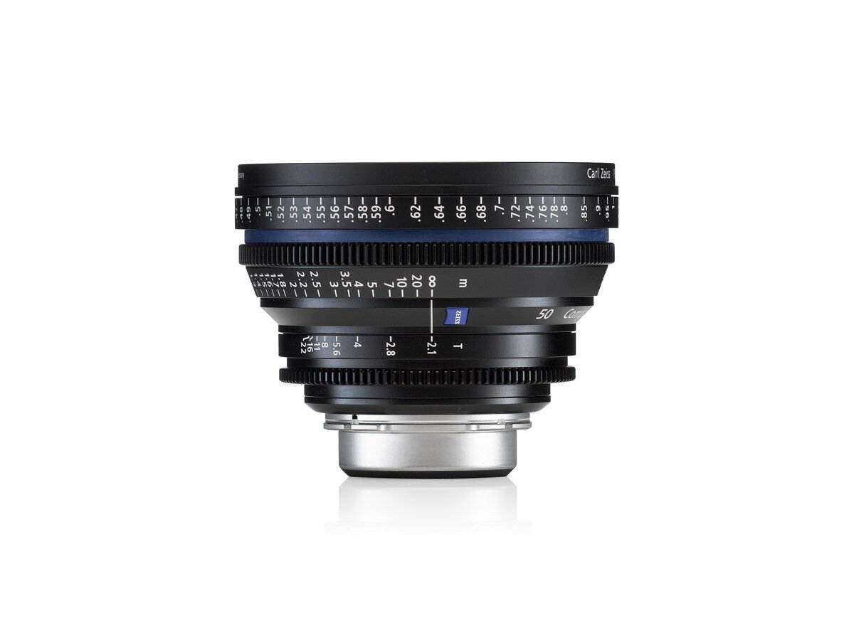 Zeiss Compact Prime CP.2 50mm T2.1 Micro 4/3-mount