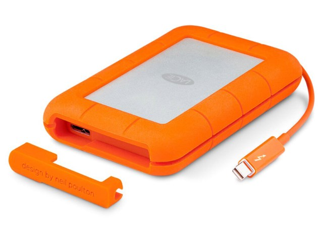 LaCie Rugged RAID 4TB Thunderbolt USB 3.0
