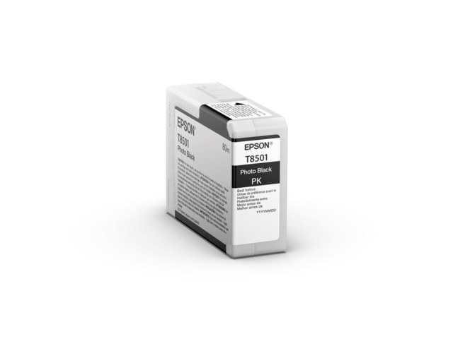 Epson Bläckpatron Ultrachrome HD foto svart 80 ml