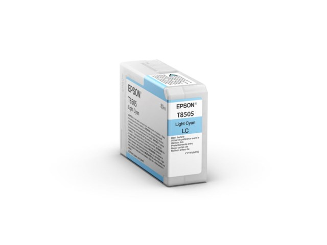 Epson Bläckpatron Ultrachrome HD ljus cyan 80 ml