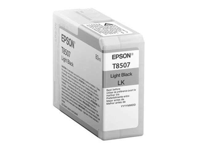 Epson Bläckpatron Ultrachrome HD ljus svart 80 ml