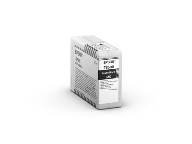 Epson Bläckpatron Ultrachrome HD matt svart 80 ml