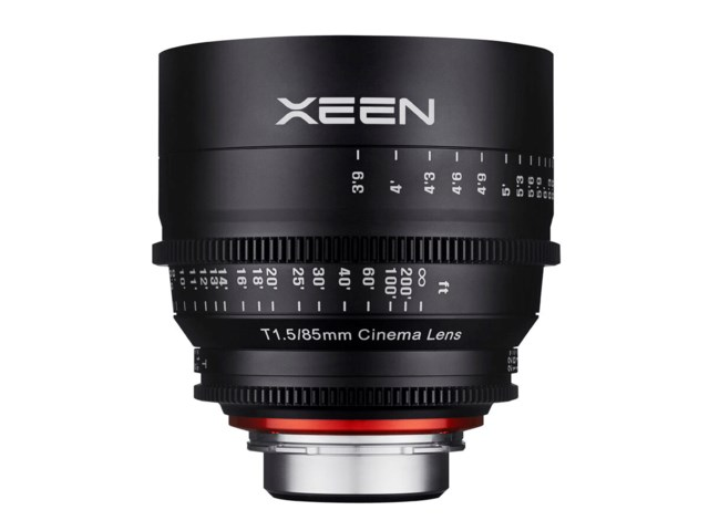 Samyang Xeen 85mm T1.5 Cinema till Canon