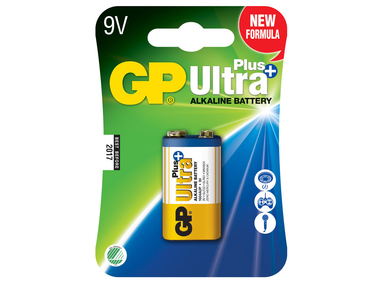 GP Batteri 522 9V / 6LF22 Ultra Plus