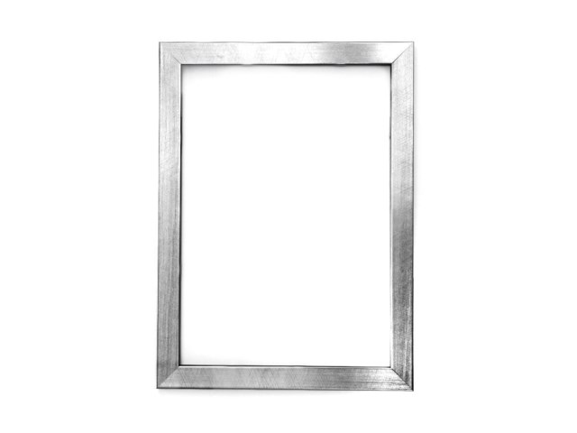 Scandinavian Photo Fotoram 60x80 borstad silver
