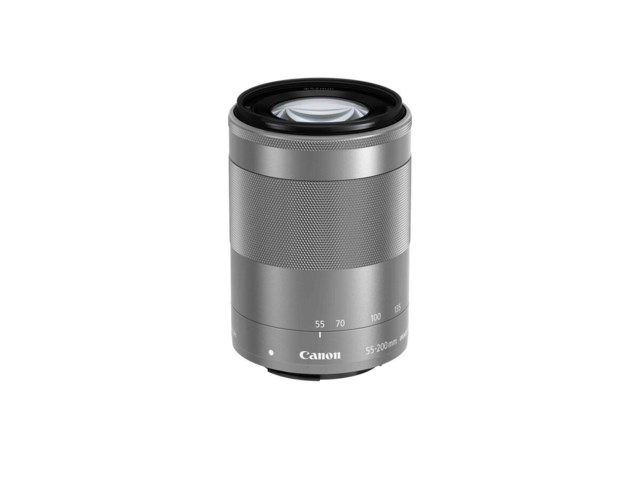 Canon EF-M 55-200mm f/4,5-6,3 IS STM silver