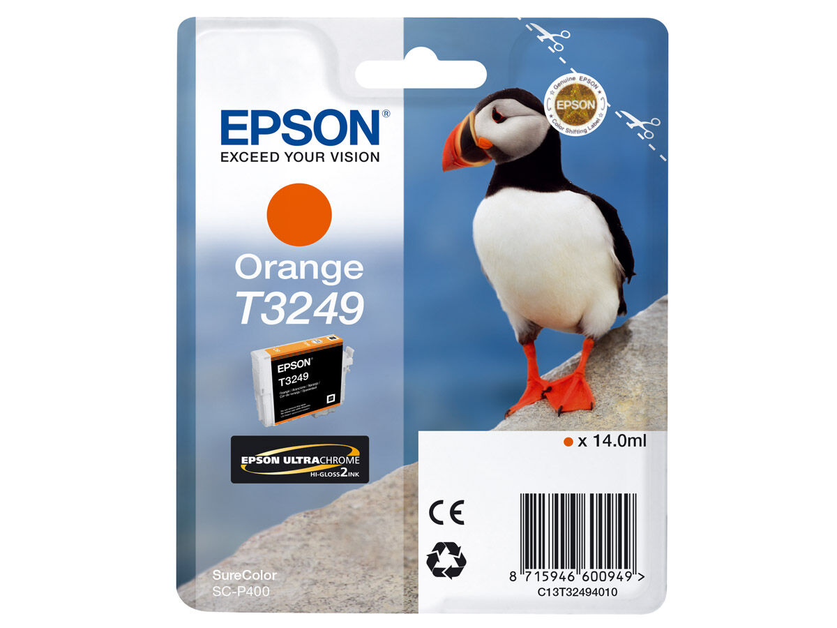 Epson Bläckpatron Ultrachrome orange 14 ml T3249 till