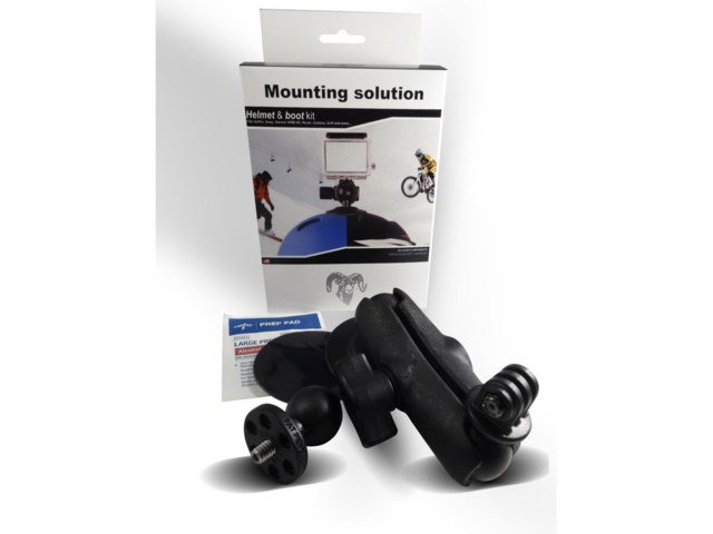RAM Mounts Liten Alp / MBT- Safe Helmet & Boot RAM Mount kit