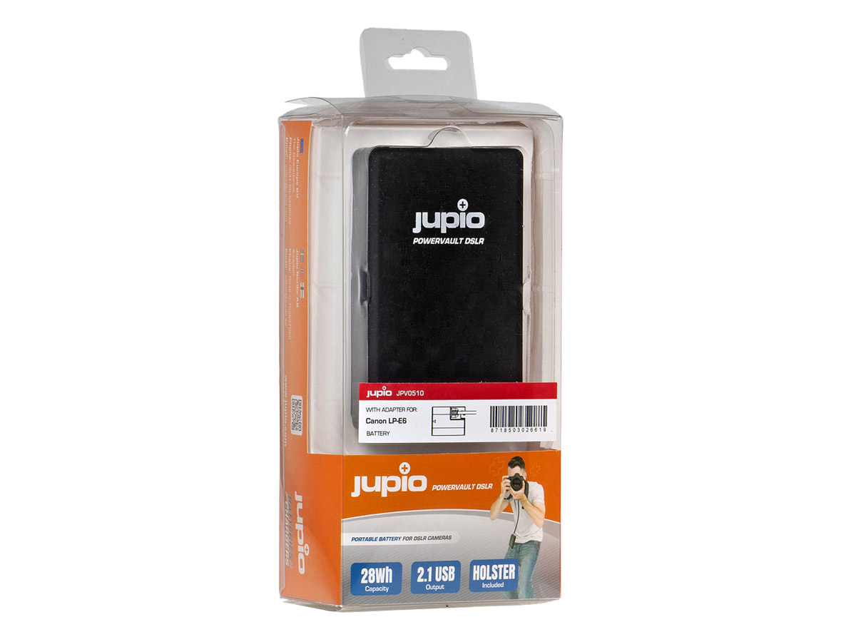 Jupio Externt batteripack PowerVault DSLR LP-E6