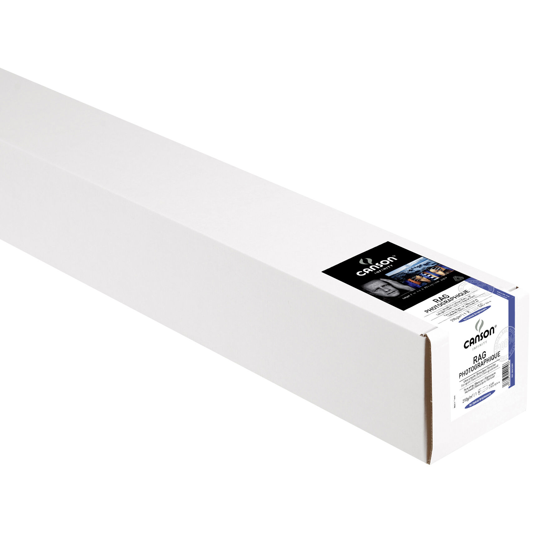 "Canson Rag Photographique Rulle 44"" x 15,2m 210gr"