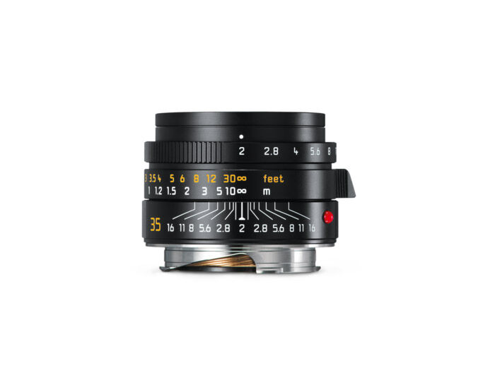 Leica Summicron-M 35mm f/2 ASPH New svart