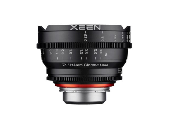 Samyang Xeen 14mm T3.1 Cinema till Canon