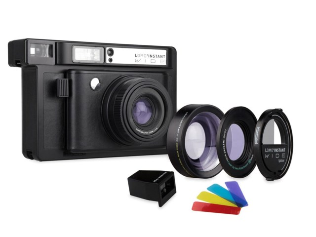 Lomography Instant Wide Black + Lenses