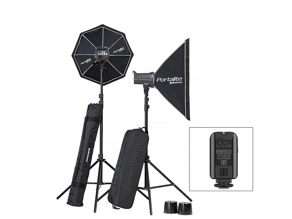Elinchrom Blixtpaket D-Lite RX 4/4 Softbox To Go